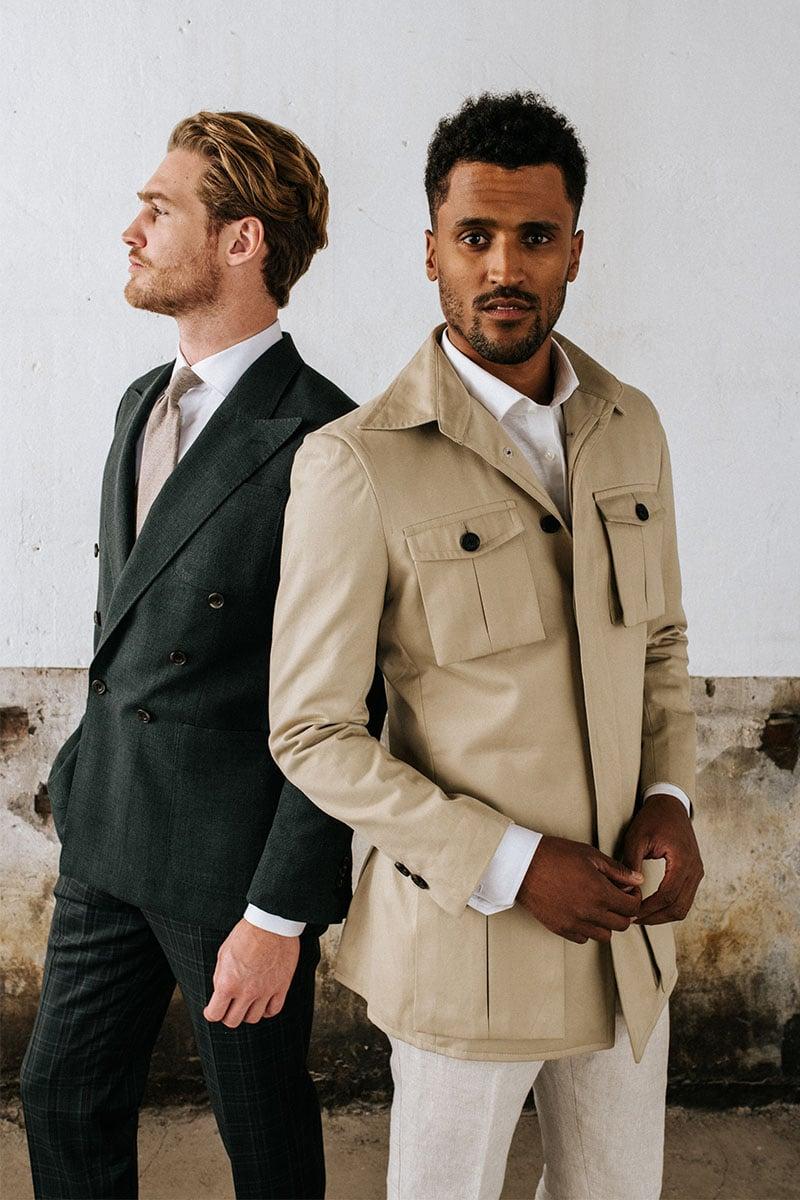 safari jacket trend