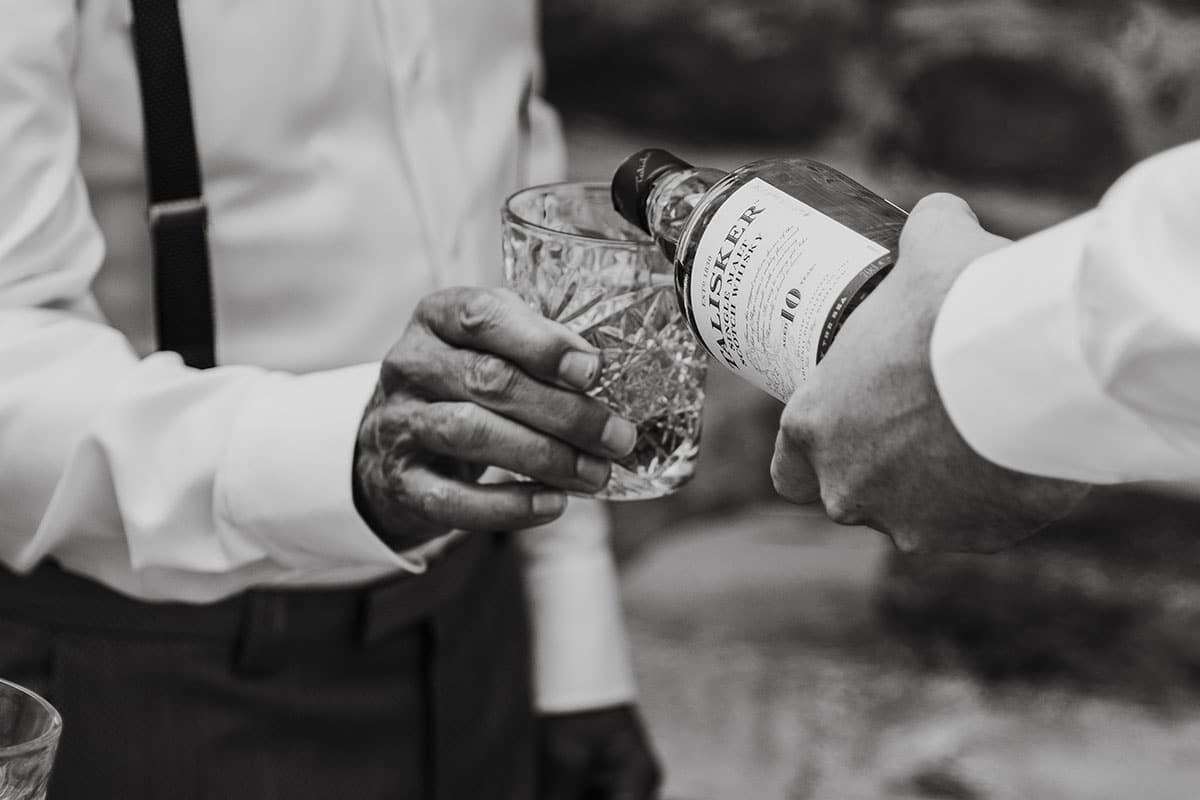 wiskey inschenken