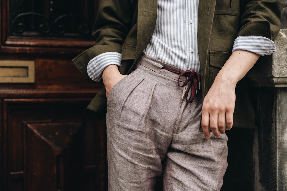 Cord trouser