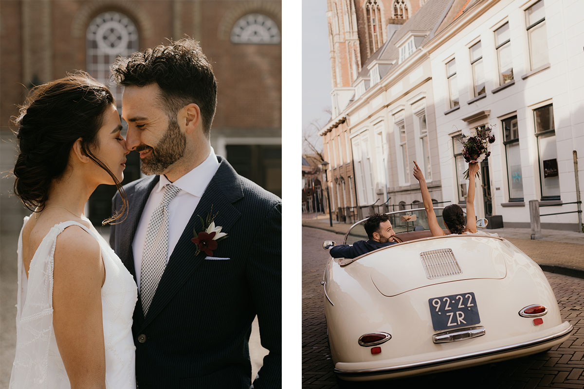 oldtimer-auto-trouwen-huwelijk-jawoord-trouwpak-maatwerk-married
