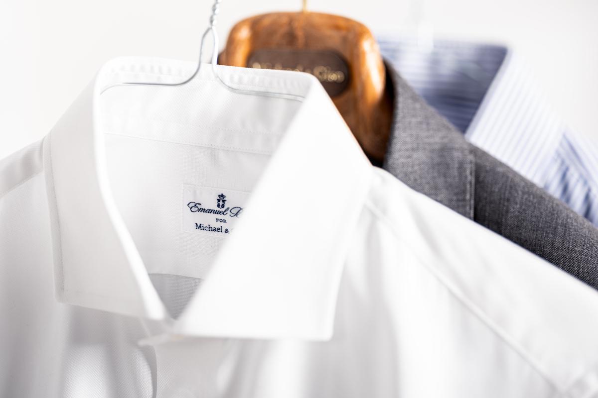 Strijkvrije overhemden Michael & Giso